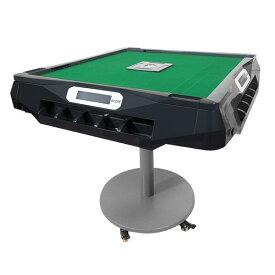 【5/25入荷予定】全自動麻雀卓 スリムプラススコア 折りたたみタイプ ブラック【点数表示機能】