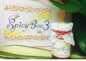 【送料無料/代引き不可】SpicyBee3酵素たっぷり生ハチミツ100%(オーガニックカシアベトナム産シナモン、ローヤルゼリー、ビーポーレン(蜂花粉)入り)