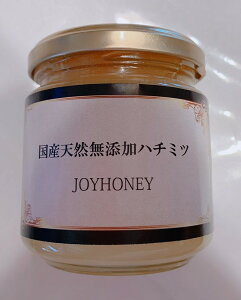 【送料無料】国産天然無添加ハチミツ JOYHONEY 250g