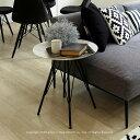 サイドテーブル 大理石 天然大理石 ソファサイドテーブル 丸テーブル ブラック脚 スチール