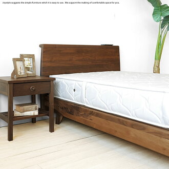 Design VIOLA BF WN s floating furnitures with single semi double double 3  size Walnut wood Walnut solid wood bed frames Sunoco bed wood legs. joystyle interior   Rakuten Global Market  Design VIOLA BF WN s
