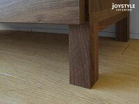 幅90cm奥行37cmの薄型設計ウォールナット材ウォールナット無垢材ウォールナット天然木木製大容量の収納力本棚サイドボードチェストキャビネットVEIL-CB90WL