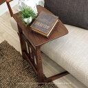 サイドテーブル コーヒーテーブル ソファ前に置きやすいコの字デザイン ウォールナット材 ウォールナット無垢材 幅40cm 幅55cm