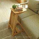 サイドテーブル ソファ横に置けるテーブル ヒノキ材 ヒノキ無垢材 雑誌などをディスプレイ可能 桧材