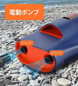 Sup 電動空気入れ エアコンプレッサー 自動停止 電動ポンプ 小型 過熱保護 DC12V ガーソケット接続式