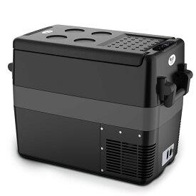 F40C4TMP 車載冷蔵庫 40L 仕切り付き -20℃〜10℃ 冷凍冷蔵庫 2電源対応 12V 24V ACコード・DCコード・取扱説明書付き