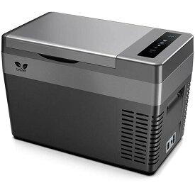 F40C4TMP 車載冷蔵庫 25L -22℃〜10℃ 急速冷凍 AC/DC電源対応 ポータブル冷蔵庫 12V 24V アウトドア冷蔵庫 静音 ACコード・DCコード・取扱説明書付き