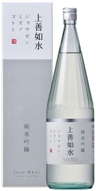 【3/8リニューアル新発売!】白瀧酒造 上善如水 純米吟醸 1800ml