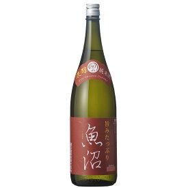 白瀧酒造 濃醇魚沼 純米 1800ml 日本酒 新潟