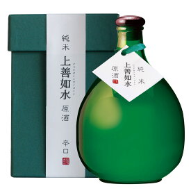 父の日 ギフト 日本酒 新潟 白瀧酒造 上善如水 純米 原酒 720ml