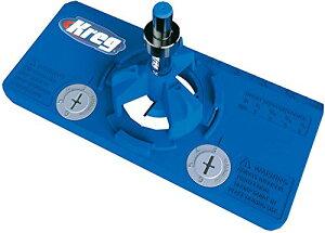 Kreg スライド丁番穴あけジグ Concealed Hinge Jig 正規輸入品 穴あけ工具 扉やキャビネット製作に便利なドリルガイドジグ 正確な穴あけが可能に クレッグ