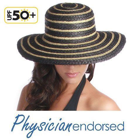 【ポイント20倍】【Physiciane】麦わら帽子 つば広 ストローハット UVカット 帽子 UV 紫外線対策 おしゃれ 遮光 日よけ