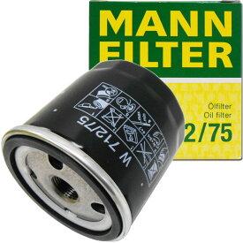 MANN オイルフィルター シボレー (オプトラ) W 712/75 (オイルエレメント・適合検索あり) 【RCP】【M】