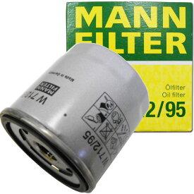 MANN オイルフィルター フォルクスワーゲン (ゴルフ) W 712/95 (オイルエレメント 適合検索あり) ポイント消化