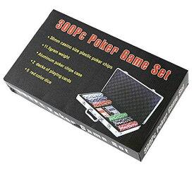 ポーカーチップ300枚セット カジノチップセット 【送料無料】【納期約1週間前後】