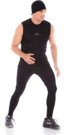 サウナスーツ メンズ タイツ レギンス スパッツ スポーツインナージムウエア ジム用品 トレーニングウエア 筋トレウエア 発汗 ランニング減量 スポーツウエア ボクシング ダイエット 脂肪燃焼 代謝アップサウナスーツタイツ V3