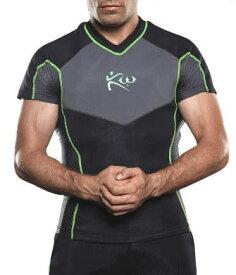 サウナスーツ メンズ ジムウエア ジム用品 Tシャツ トレーニングウエア 筋トレウエア発汗 ランニング 減量 スポーツウエア ボクシング 半袖 ダイエット 脂肪燃焼 代謝アップ