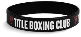 タイトルボクシング/Title Boxing シリコンリストバンドシリコンブレスレット バングル リストバンドスポーツブレスレット スポーツアクセサリー ゴムブレスレットタイトルボクシングクラブブレスレット