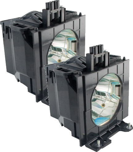 ET-LAD55W CBH+パナソニックプロジェクターランプ 【2灯セット】汎用オリジナル光源バナー採用 新品・送料無料 在庫納期1〜2営業日 欠品納期1週間〜