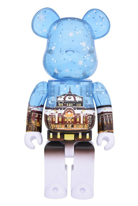 【前払い不可】BE@RBRICK(ベアブリック)東京駅丸の内駅舎モデル Snow Ver.400% 送料込
