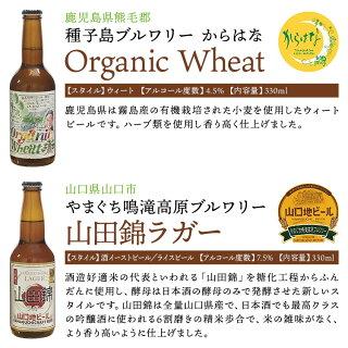 九州旅気分!クラフトビール8本詰合せセット地ビール九州福岡熊本宮崎鹿児島山口冷蔵