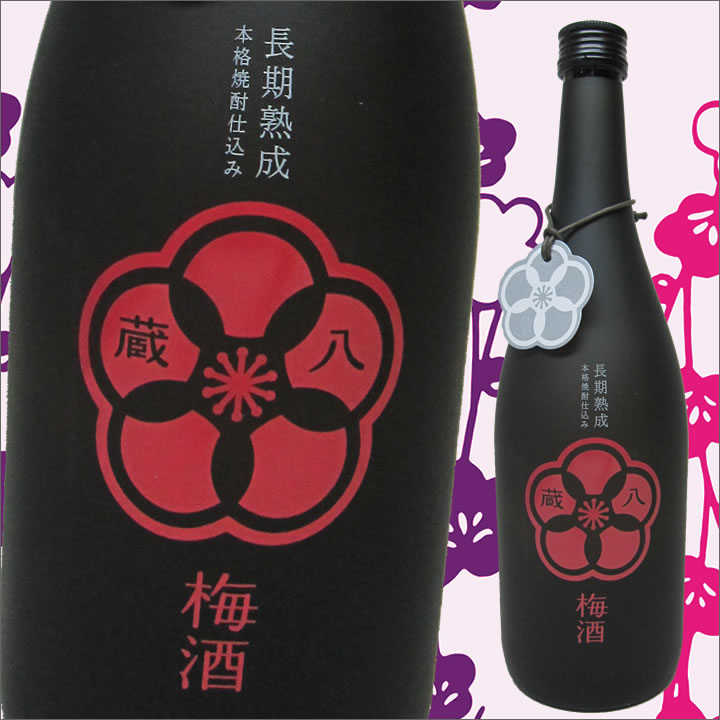 堤酒造 長期熟成本格焼酎仕込み蔵八梅酒(14度/720ml)J18Z08【常温】