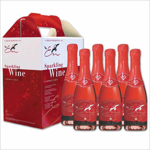 都農ワイン スパークリングワインキャンベルアーリー(200ml×6本)宮崎 ワイナリー 国産ワイン J47Z21常温