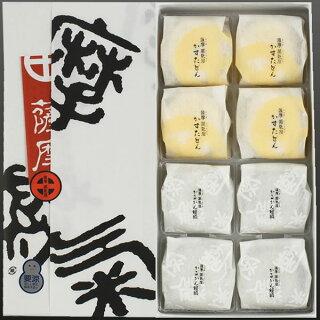 薩摩蒸気屋かすたどん・かるかん饅頭(各4個入)