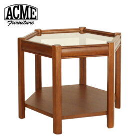 ACME Furniture アクメファニチャー BROOKS HEXAGONTABLE クリア ブルックス ヘキサゴンテーブル 家具 テーブル サイドテーブル【送料無料】【ポイント10倍】