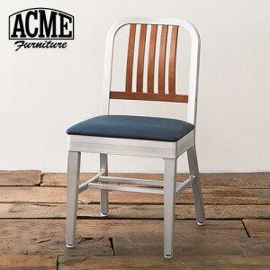 ACMEFurnitureアクメファニチャーSHORELINESIDECHAIRalumileg【座面:ネイビー】ショアラインチェアチェア椅子ダイニングチェア【送料無料】