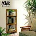 ACME Furniture アクメファニチャー TROY CORNER SHELF S トロイ コーナーシェルフ S 3段 高さ110cm コーナーラック オープンラック【送料無料】【ポイント10倍】