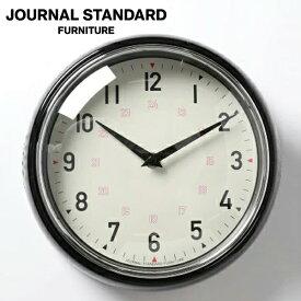 journal standard Furniture ジャーナルスタンダードファニチャー GENT WALL CLOCK BLACK ゲント ウォールクロック ブラック 時計 壁掛け 家具 【送料無料】【ポイント10倍】