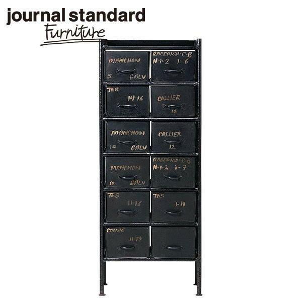 journal standard Furniture ジャーナルスタンダードファニチャー GUIDEL 12DRAWER CHEST ギデル 12ドロワーチェスト 幅59cm B00FRZI8LQ【送料無料】【ポイント10倍】