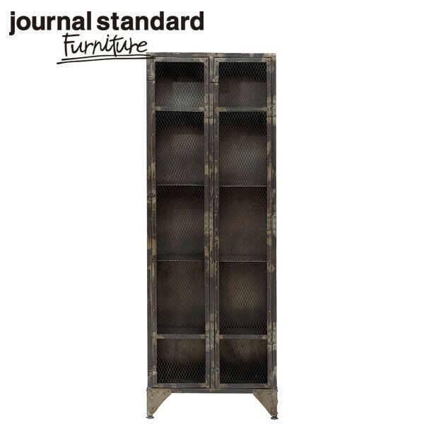 journal standard Furniture ジャーナルスタンダードファニチャー GUIDEL MESH LOCKER 2DOORS ギデルメッシュロッカー 2ドアー 幅67×高さ190cm B00J58T06I【ポイント10倍】