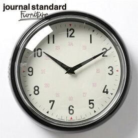 journal standard Furniture ジャーナルスタンダードファニチャー GENT WALL CLOCK BLACK ゲント ウォールクロック ブラック 時計 壁掛け【送料無料】【ポイント10倍】