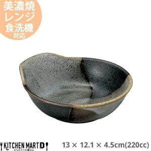 山がすみ 呑水 220cc 13×12.1×4.5cm 美濃焼 日本製 国産 とんすい 黒 ブラック 陶器 鍋 玉子入れ すき焼き しゃぶしゃぶ ポン酢 ごまだれ 雑炊 皿 ボウル スタック かっこいい おしゃれ 業務用 光