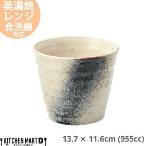 銀河 サイドボウル 955cc 13.7×11.6cm 美濃焼 日本製 国産 白 ホワイト 陶器 鍋 すき焼き しゃぶしゃぶ アク取り 灰汁入れ アク入れ 杓子入れ お玉入れ ガラ入れ 鉢 皿 スタック かっこいい おしゃ