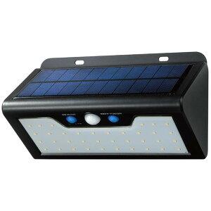 電気 太陽光 防雨 ELPA(エルパ) 屋外用 LEDセンサーウォールライト ソーラー発電式 電球色 ESL-K411SL(L) 照明 人感 人 明かり 屋外 車 常夜灯モード 動き