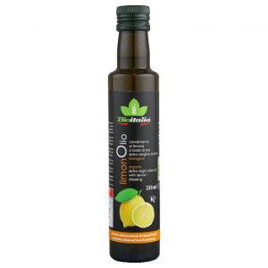 テルヴィス 有機 エクストラバージンオリーブオイル レモン風味 250ml×12本   同梱・代引不可