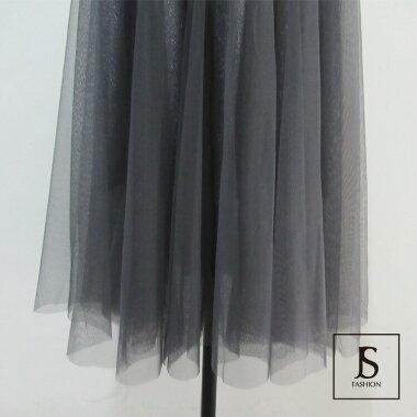 【5/31まで限定値下】【送料無料】ロングスカート全2色チュールスカートレーススカートロング丈フレアスカートフレアラインシンプル大人カジュアルデイリーおしゃれフェミニンFフリーサイズ大人可愛いJSファッション【200521】【5月新作】