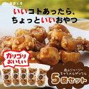 蒜山ジャージーキャラメルザックル(100g)5袋セット  (ZK)^