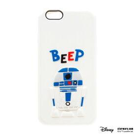 iPhone 6s/6用 シリコンケーススターウォーズ ケース【 R2-D2 】iphone6s iphone6 iphone 6s 6 ケース カバー star wars アップル docomo au softbank ポイント 送料無料 apple 4562358130731