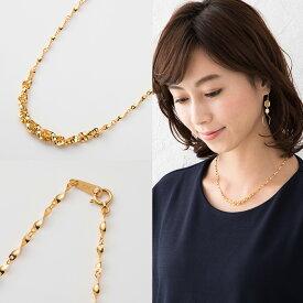 24金 K24 純金 ネックレス 約4.2g 約42cm ウィンザーデザインネックレス【造幣局品位証明刻印】