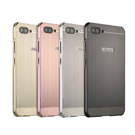ASUS Zenfone 4 Max Pro (ZC554KL 5.5インチ)用軽量メタル/工具のいらないアルミケースバンパーカバー/スタイリッシュ フレーム/カバー/シンプルサイドバンパ/耐衝撃ケース/取付け簡単【ra31009】