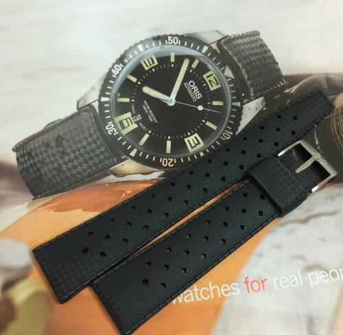 新品 ORIS オリス 腕時計 オリスダイバーズ65純正ラバーベルト黒国内正規3年保証