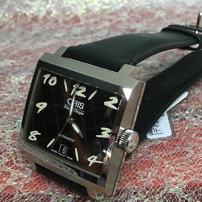 20%OFF 新品 ORIS オリス腕時計 メンズウォッチ ジャズ限定・ディジー・ガレスピー 世界1917本限定 733.7593.4089F ギフト レア品 ラッピング無料 国内正規3年保証