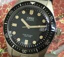 新品オリス ORIS 腕時計 ダイバーズ65 腕時計 メンズウォッチ ブラック文字盤 733.7720.4054M ギフト 人気 ラッピング無料 国内正規3年…