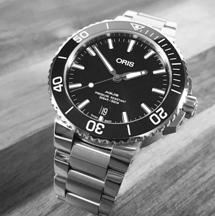 新品 ORIS オリス 腕時計 メンズ ウォッチ アクイスダイバーズ 733.7732.4124M 自動巻き ダイバーズウオッチ ギフト 人気 ラッピング無料 国内正規3年保証