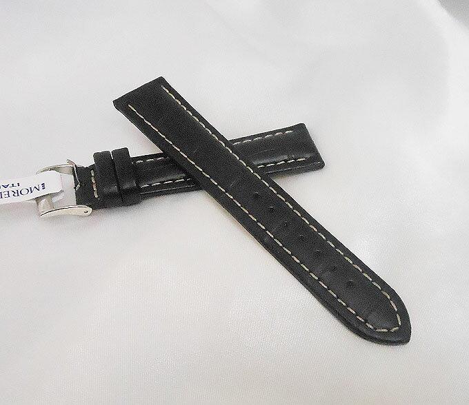 時計バンド 時計ベルト MORELLATO モレラートPLUS プラス ブラック