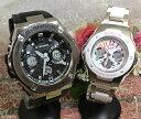 恋人たちのGショック ペアウオッチ G-SHOCK BABY-G ペア腕時計 カシオ 2本セット gショック ベビーg GST-W110-1AJF MSG-302C-7B2JF 大…